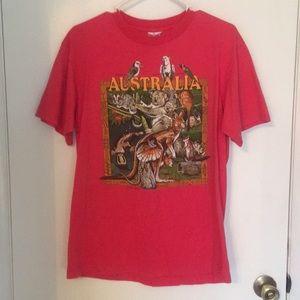 Australian tourist tee shirt. Made in USA?